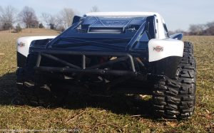 URCG Edition - Traxxas Slash 4x4 TSM OBA - FOX, ProLine Trencher Tires - named Foxy