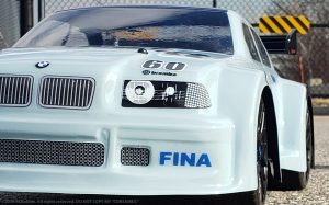 URCG Edition - Traxxas Slash 4x4, Delta Plastik USA body - Corsa Gray BMW M3, Sweep Racing Tires - named CorsaMe3