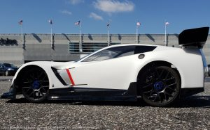 URCG Edition - Traxxas Slash 4x4, PROTOform body - White and Black Cheverolet Corvette C7, Sweep Racing Tires - named StormedtrooperZ06