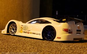 URCG Edition - Traxxas Slash 4x4, Delta Plastik USA body - White Mercedes AMG DTM, Sweep Racing Tires - named Circuit Royale