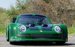 URCG Edition - Traxxas Slash 4x4, Delta Plastik USA body - Racing Green Porsche 911 GT3, Sweep Racing Tires - named G-TRAIN