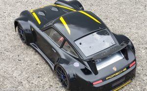 URCG Edition - Traxxas Slash 4x4, Delta Plastik USA body - Flat Black Porsche 911 GT3, Sweep Racing Tires - named M911 WASP