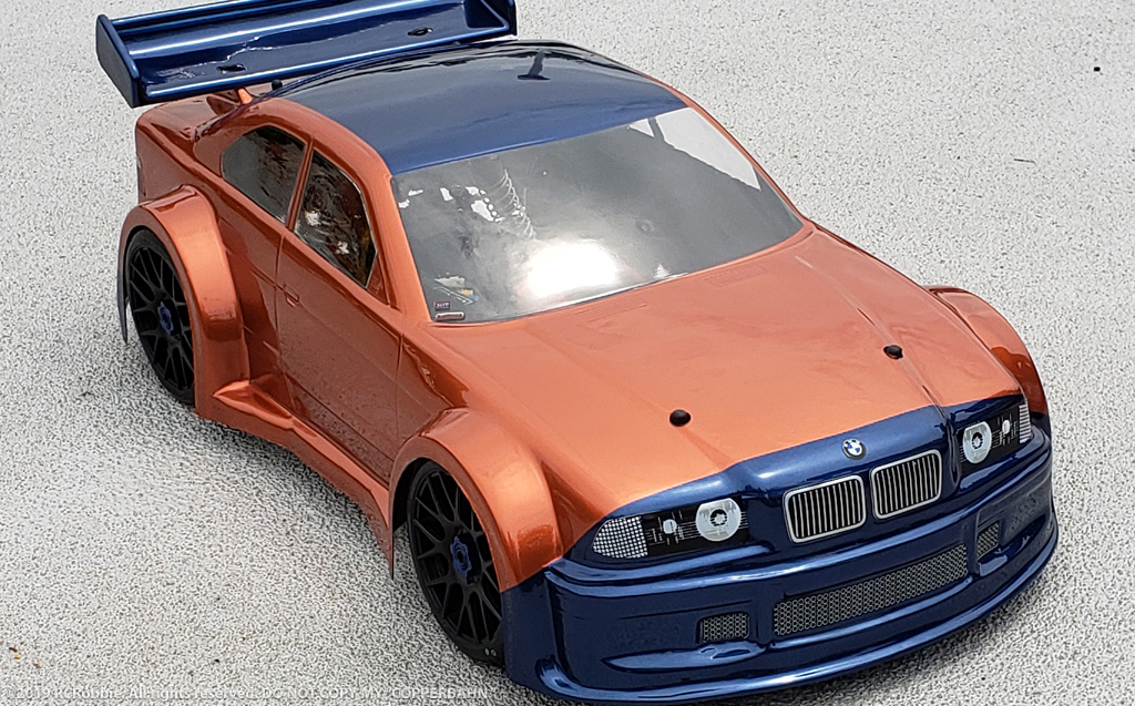 BMW M3 Copperbahn