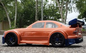 URCG Edition - Traxxas Slash 4x4, Delta Plastik USA body - Copper BMW M3, Sweep Racing Tires - named Copperbahn