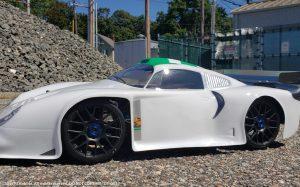 URCG Edition - Traxxas Slash 4x4, Delta Plastik USA body - White Porsche GT1, Sweep Racing Tires - named DP-GT1