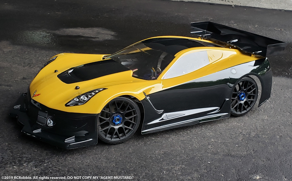 Chevy Corvette Mustard