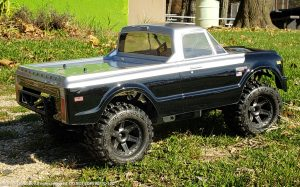 URCG Edition - Traxxas Slash 4x4, JConcepts body - Black Chevy 72 C-10, ProLine Prime Tires - named C-10D