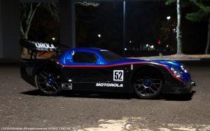 URCG Edition - Traxxas Slash 4x4, Delta Plastik USA body - Metallic Blue Panoz GTR-1, Sweep Racing Tires - named P-52