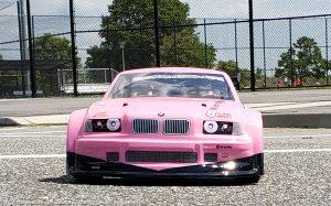 URCG Edition - Traxxas Slash 4x4, Delta Plastik USA body - Pink BMW M3 GT, Sweep Racing Tires - named pINK kRACKAS