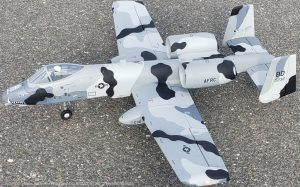 URCG Edition - E-flite RC Marines A-10 Thunderbolt II Warthog EDF BNF - Flipper Camo with Detailed Attack Livery - named THUNDERBOLTS